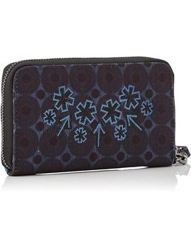Cartera Mujer Desigual Mone Rep Blue Friend Mini Zipndigo