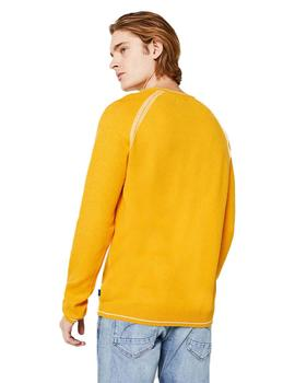 Jersey Hombre Edc Double Knit Amarillo