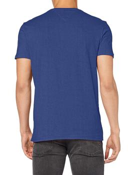 Camiseta Hombre Tommy Jeans Essential Logo Azulon