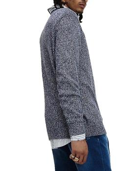 Jersey Hombre Tommy Jeans Melange Sweater Marino