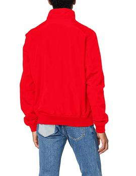 Cazadora Hombre Tommy Jeans Essential Bomber Jacket Rojo
