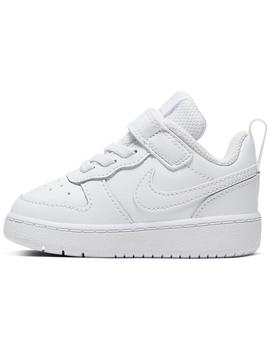 Zapatillas Niños Nike Court Borough Blanco