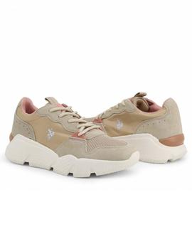 Zapatilla Mujer U.S. Polo Assn Willow Beige