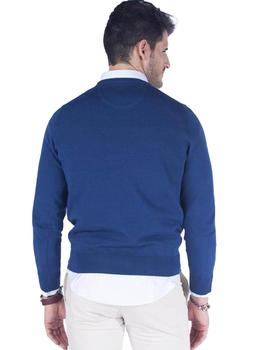 Jersey Hombre Harper And Neyer Round Neck Icon Azul