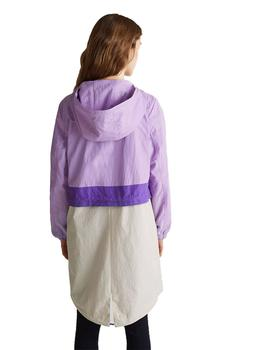 Parka Mujer EDC By Esprit Combi Lilac