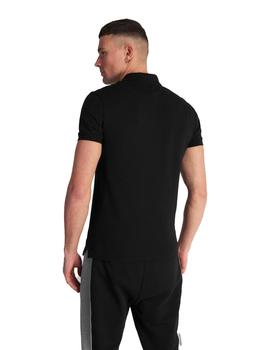 Polo Hombre Lyle And Scott M/C Negro