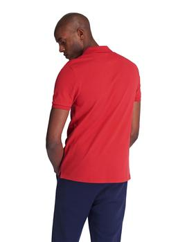 Polo Hombre Lyle And Scott M/C Rojo