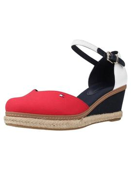 Cuña Mujer Tommy Hilfiger Basic Closed Toe Mid Wedge Tricolo