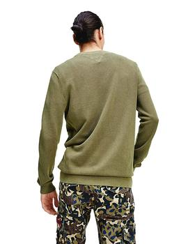 Jersey Hombre Tommy Jeans Lightweight Sweater Khaki