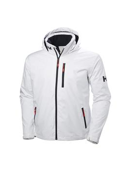 Cazadora Hombre Helly Hansen Crew Hooded Midlayer Blanco