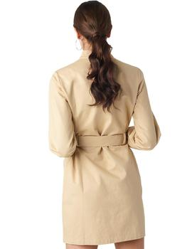 Vestido Mujer Rut And Circle Jacqueline Dress Beige