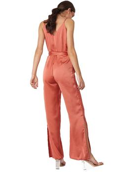 Mono Mujer Rut And Circle Inez Slit Jumpsuit Teja