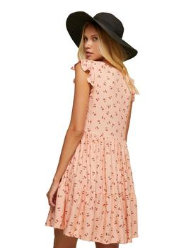 Vestido Mujer Maggie Sweet California Dress Cherries