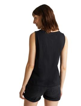Camiseta Mujer Esprit Loud And Live/Negro