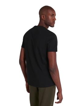 Camiseta Hombre Lyle And Scott M C Negro