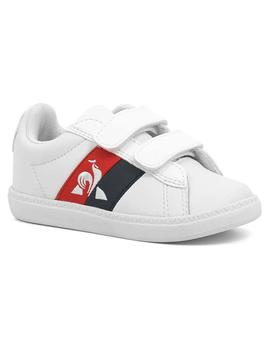 Zapatillas Niños Le Coq Sportif Court Classic Infant Blanco