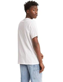 Camiseta Hombre Levis Relaxed Fit Pocket Tee Snoopy White