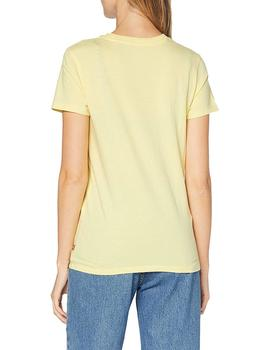 Camiseta Mujer Levis The Perfect Tee Batwing Outline Lemon