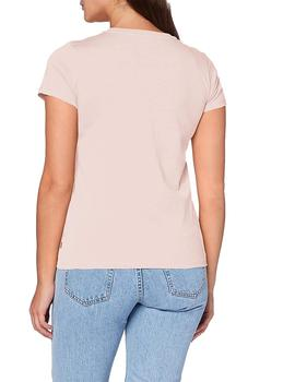 Camiseta Mujer Levis The Perfect Tee Logo Sepia Rose