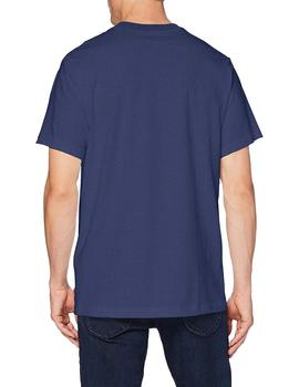 Camiseta Hombre Levis Ss Relaxed Fit Tee Serif Photo Blue
