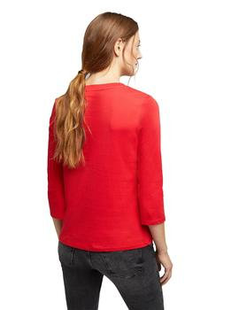 Camiseta Mujer Edc Be Different Rojo