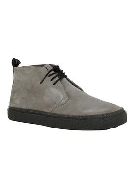 Botín Hombre Fred Perry Hawley Suede Charcoal