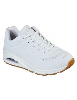 Zapatillas Mujer Skechers Street Uno Stand On Air Blanco