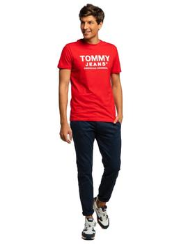 Camiseta Hombre Tommy Jeans Essential Logo