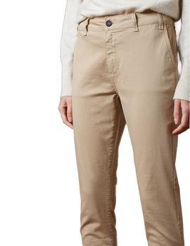 Pantalón Mujer Indi And Cold Chino Luca Beige
