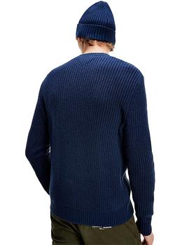 Jersey Hombre Tommy Jeans Tommy Badge Sweater Navy