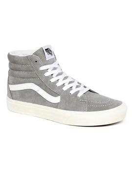 Zapatillas Vans Sk8 High Suede Gris
