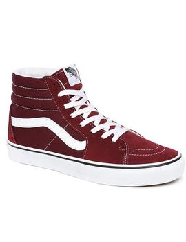 Zapatillas Vans Sk8 High Burdeos