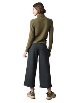 Pantalon Mujer Indi And Cold Culotte James Gris Marengo