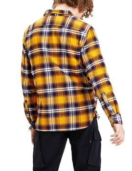 Camisa Hombre Levis Jackson Worker Andrusia Golden Yellow
