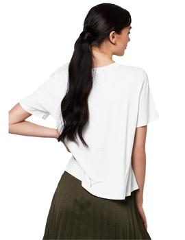 Camiseta Mujer Ruth And Circle Amy Everyday Blanco