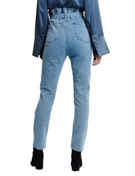 Vaquero Mujer Ruth And Circle Danielle Paper Waist Jeans Azu
