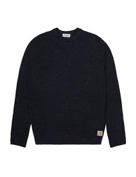 Jersey Hombre Carhartt Anglistic Sweater Marino