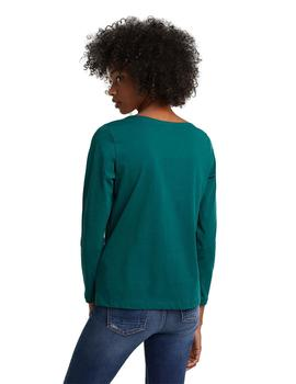 Camiseta Mujer Edc M/L Girls Support Verde