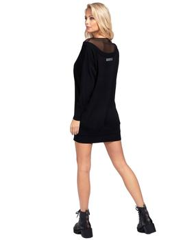 Vestido Mujer Guess Crystal Sweater Black