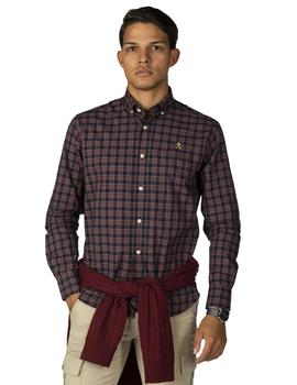 Camisa Hombre Harper And Neyer East Pier Navy Blue