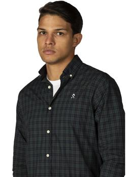 Camisa Hombre Harper And Neyer Lowlands Green