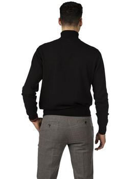 Jersey Hombre Harper And Neyer Pullover Icon Cuff Neck Negro