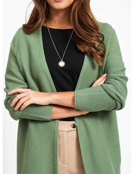Chaqueta Mujer Vila Vilalaine L/S Long Cardigan Loden Frost