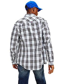 Camisa Hombre Tommy Jeans Seasonal Check Multicolor
