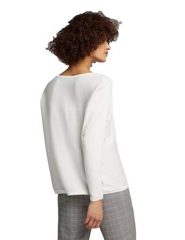 Jersey Mujer Esprit Oversize Blanco