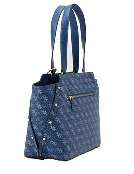 Bolso Mujer Guess Tyren Girlfriend Carryall Blue
