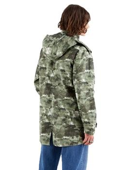 Parka Hombre Levis Fishtail Parka Ocean Camo Hedge Green