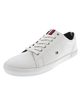 Zapatilla Hombre Tommy Hilfiger Iconic Long Lace Blanca