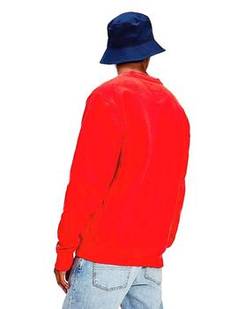 Sudadera Hombre Tommy Jeans Timeless Rojo