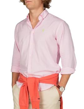 Camisa Hombre Harper And Neyer Loring Oxford Rosa